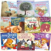Bedtime Family: 10 Kids Picture Books Bundle