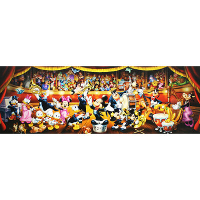 Disney Orchestra Panorama 1000 Piece Jigsaw Puzzle image number 4