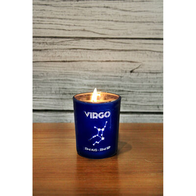 Zodiac Collection Virgo Fresh Vanilla Candle image number 4