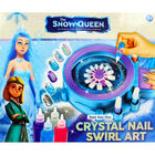 The Snow Queen Crystal Nail Swirl Art image number 2