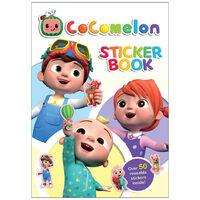 Cocomelon Sticker Character Book