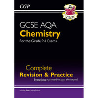 CGP GCSE Chemistry Grade 9-1: Complete Revision & Practice