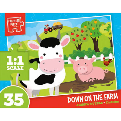 Assorted 35 Piece Jigsaw Puzzle image number 3