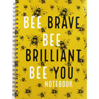 A4 Wiro Bee Lined Notebook image number 1