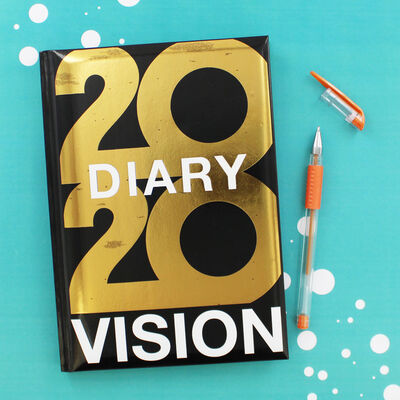 A5 2020 Vision Week to View Diary image number 3