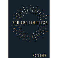 A5 You Are Limitless Notebook