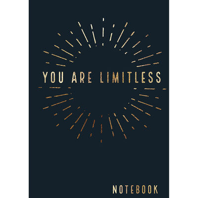 A5 You Are Limitless Notebook image number 1