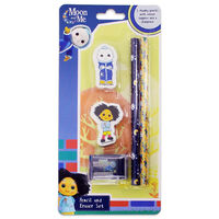 Moon & Me Chunky Eraser and Pencil Set
