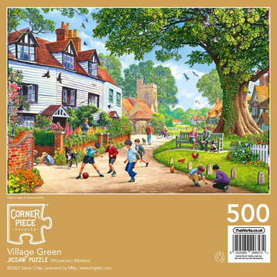 Village Green 500 Piece Jigsaw Puzzle image number 3