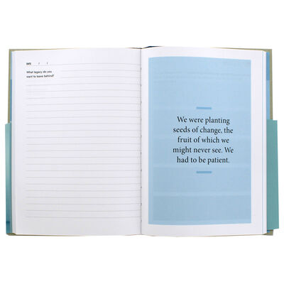 Becoming: A Guided Journal for Discovering Your Voice image number 2