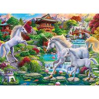 Unicorn Garden 500 Piece Jigsaw Puzzle