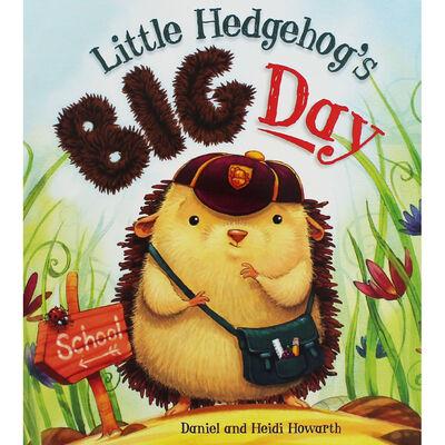 Little Hedgehog's Big Day image number 1