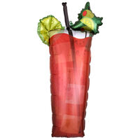 37 Inch Bloody Mary Super Shape Foil Helium Balloon