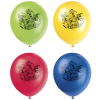 Justice League Latex Balloons - 8 Pack
