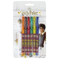 Harry Potter Hogwarts Gel Pens: Pack of 6