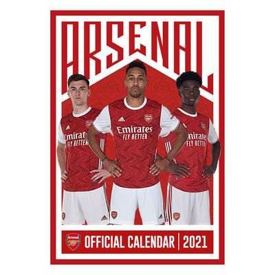 The Official Arsenal 2021 Calendar image number 1