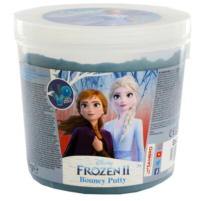 Disney Frozen 2 Blue Bouncy Putty Tub image number 2