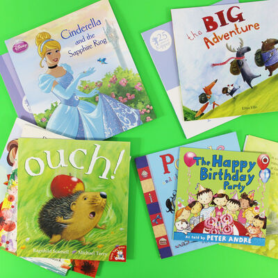 Birthday Wishes: 10 Kids Picture Books Bundle image number 4