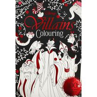 Disney Villains Colouring Book
