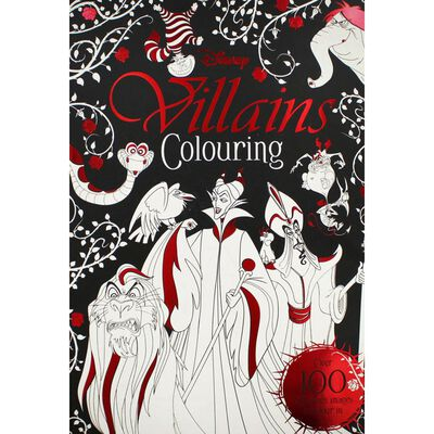 Disney Villains Colouring Book image number 1
