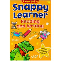 Snappy Learner: Reading And Writing