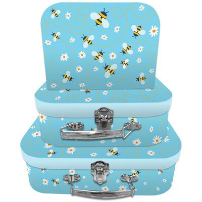 Bee Storage Suitcases - Set Of 3 image number 1