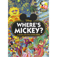 Where's Mickey?: A Search and Find Activity Book