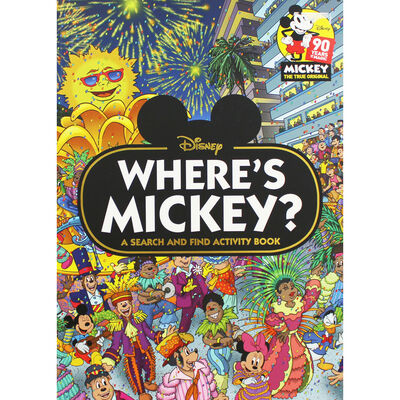 Where's Mickey?: A Search and Find Activity Book image number 1