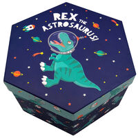 Dinosaur 4 Tier Hexagon Art Box