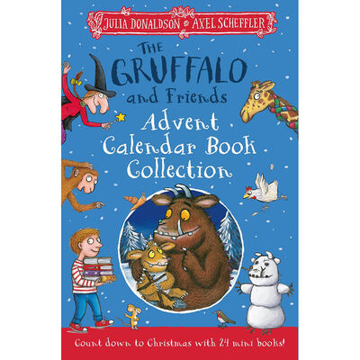 The Gruffalo and Friends Advent Calendar Book Collection image number 1