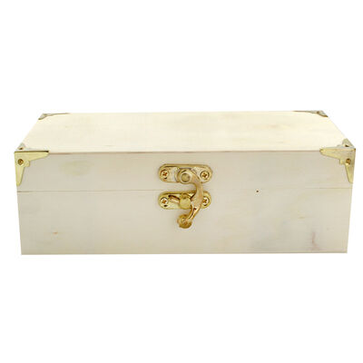 Small Rectangular Wooden Box image number 2