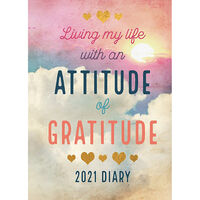 A5 Attitude of Gratitude 2021 Day a Page Diary
