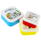 The World of David Walliams Stackable Storage Boxes: Set of 3 image number 1