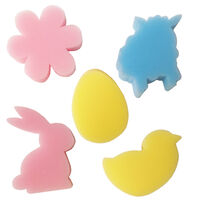 Easter Sponge Stampers: Pack of 5