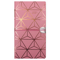 Assorted 2021 Slim Week to View Pocket Diary