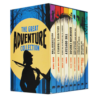 The Great Adventure Collection: 9 Book Box Set image number 1