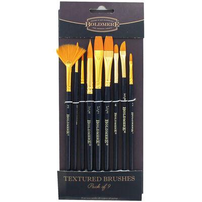 Boldmere Textured Brushes: Set of 9 image number 1