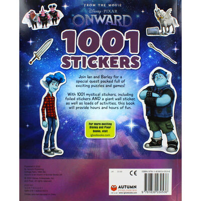 Disney Onward 1001 Stickers image number 4
