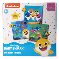 Baby Shark My First Puzzle 3-in-1 Jigsaw Puzzle