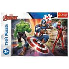 Marvel In the World of Avengers 24 Piece Maxi Jigsaw Puzzle image number 1