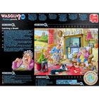 Wasgij Mystery 17 Catching a Break 1000 Piece Jigsaw Puzzle image number 3