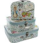 Peter Rabbit Storage Suitcases - Set of 3 image number 1