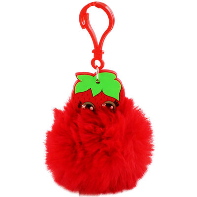 Fruitopia Scented Pom-Pom Key Chain - Assorted image number 1