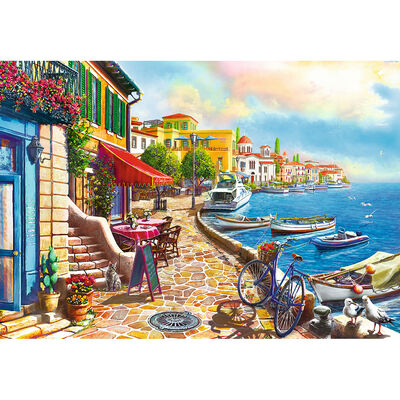 Sunny Embankment 1000 Piece Jigsaw Puzzle image number 2