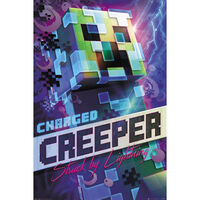 Minecraft Charged Creeper Wall Poster