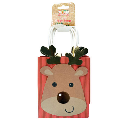 Assorted Christmas Treat Bags: Pack of 6 image number 3