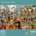 Chaos in the Gallery 1000 Piece Jigsaw Puzzle image number 1
