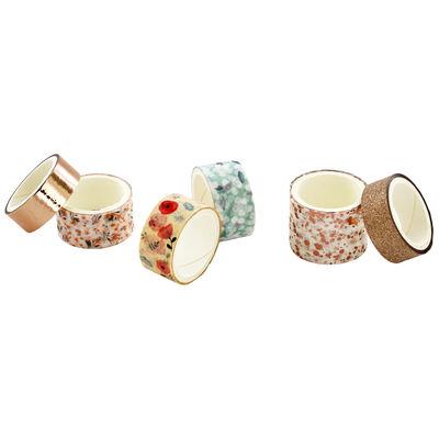 6 x 2m Floral Foil Washi Tape Set image number 3
