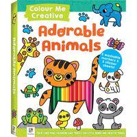 Colour Me Creative: Adorable Animals