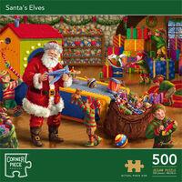 Santa's Elves 500 Piece Jigsaw Puzzle